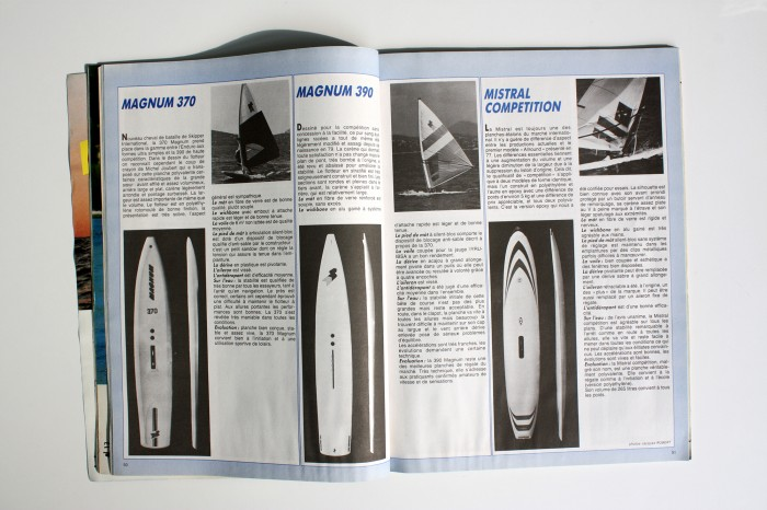Anciennes planches Windsurf