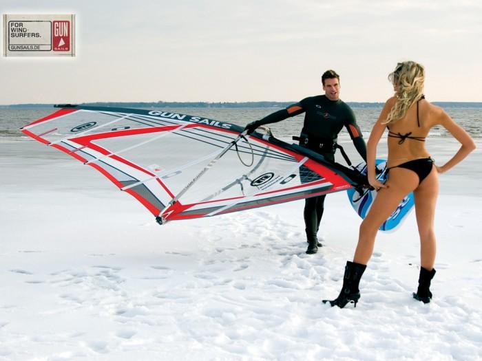Fond d écran windsurf Gun Sails