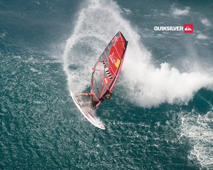 Fond d écran windsurf Quicksilver