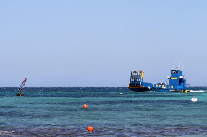 Piantarella, spot de windsurf à Bonifacio en Corse