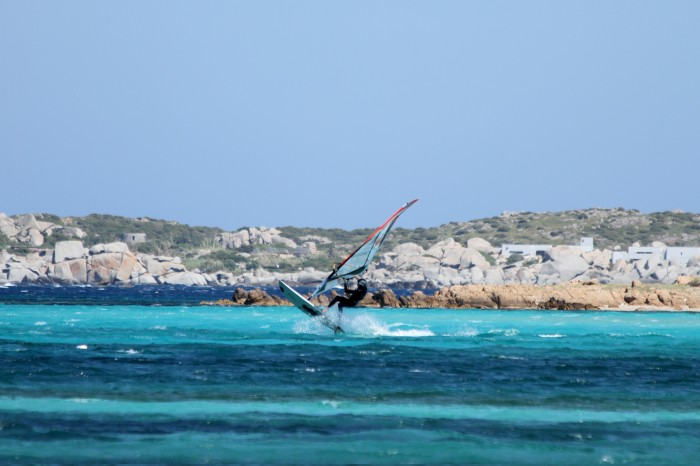 Front loop Windsurf