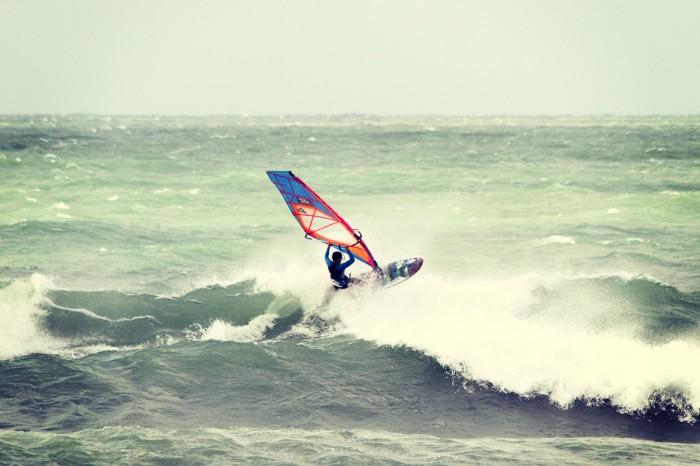 Aerial Windsurf